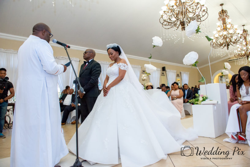 Dorcas and Molefi Wedding